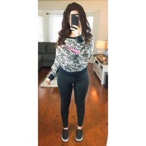 3/$30 Nike Print Long Sleeve Sweatshirt